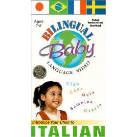 Bilingual Baby Italian DVD Volume 4