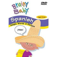 Brainy Baby Spanish DVD