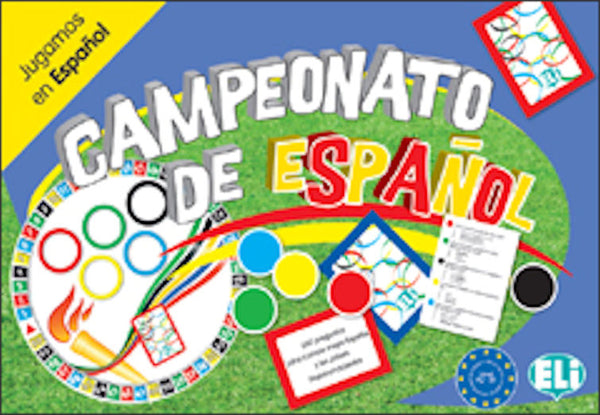Campeonato de Español - This fascinating Spanish board game for intermediate students (level A2-B1) offers 660 questions to better know Spanish and Hispanic culture: