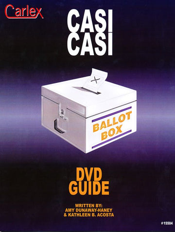 Casi Casi DVD Activity Guide