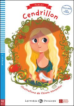 Level 3 - Cendrillon book and cd-rom