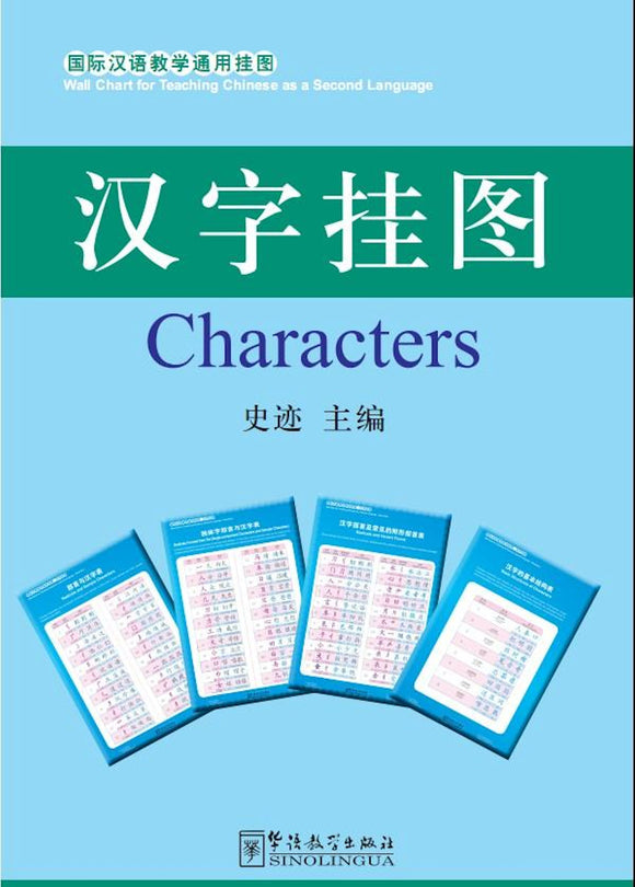 Chinese Characters Wall Chart