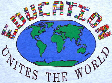 Education Unites the World T-Shirt