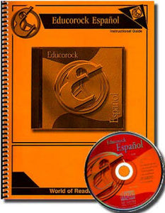 Educorock Espanol CD and Manual