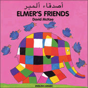 Elmer's Friends - Arabic / English