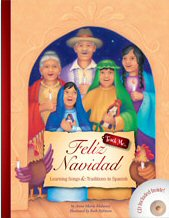 Feliz Navidad CD and Book