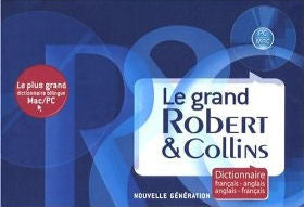 Le Grand Robert et Collins DVD-ROM