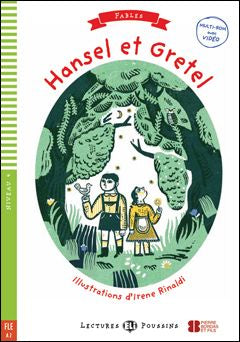 Hansel et Gretel book and cd-rom