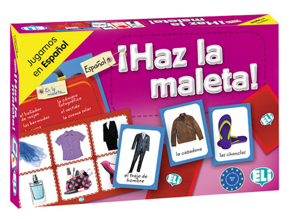Haz la Maleta -  - Innovative Spanish board game in the A1 level to learn clothing.