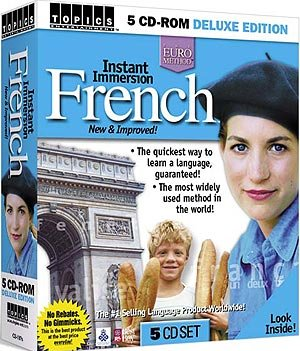 Instant Immersion French v2.0 - 5 CD-ROM set