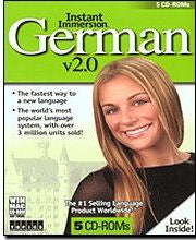 Instant Immersion German - 5 CD-ROM set