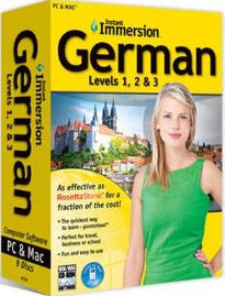 Instant Immersion German Levels 1,2 & 3
