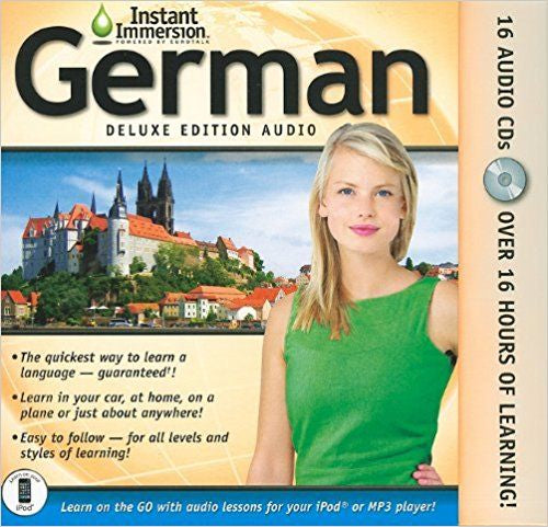 Instant Immersion German Deluxe Audio Edition