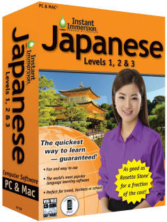 Instant Immersion Japanese 1,2 &3