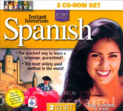 Instant Immersion Spanish 2 cdrom set