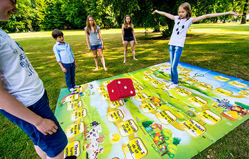 Jump and Talk Outdoor Game