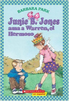 Junie B. Jones Ama a Warren, El Hermoso