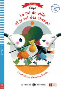 Le Rat de Ville et le Rat de Champs book and cd-rom