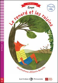 Le renard et les raisins book and cd-rom