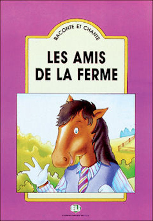 Les amis de la ferme big book and cd