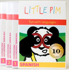 Little Pim Spanish DVDs - Volumes 1-3