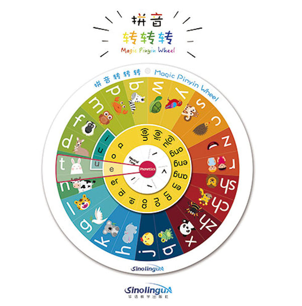 Magic Pinyin Wheel Plus