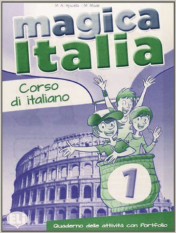 Magica Italia 1 - Quaderno operativo + Audio-CD