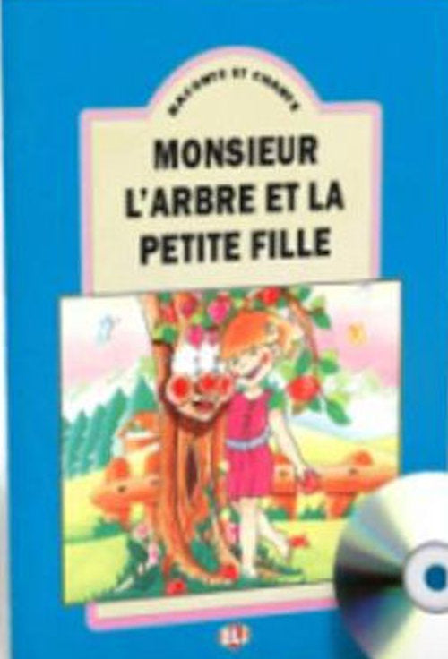 Monsieur l'Arbre et la petite fille big book and cd