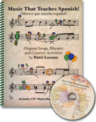 Music that Teaches Spanish CD and Teacher's Guide