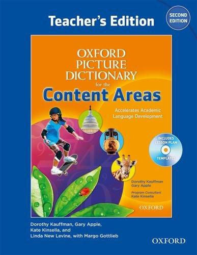 Oxford Picture Dictionary for the Content Area Teachers Edition