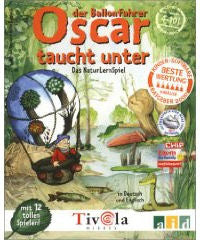 Oscar the Balloonist Dives into the Lake (Oscar der Ballonfahrer taucht unter)