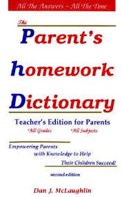 Parent's Homework Dictionary - all English Edition