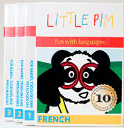 Little Pim French DVDs - Volumes 1, 2, 3