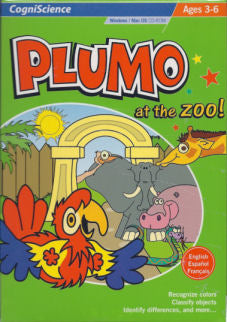 Plumo at the Zoo CD-ROM