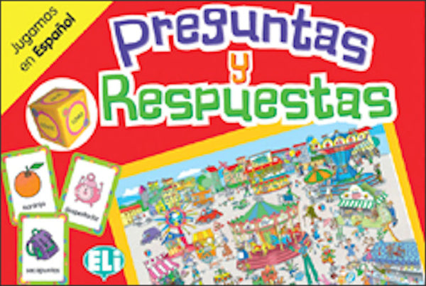 Preguntas y Respuestas - A board game for Spanish students - beginning to intermediate levels - level A2-B1.
