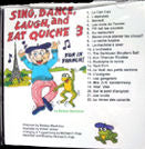 Sing, Dance, Laugh and Eat Quiche 3 - CD and Booklet