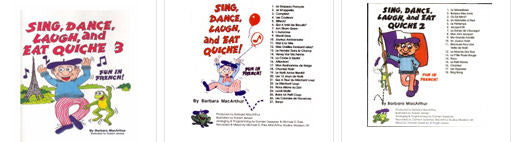 Sing Dance Laugh and Eat Quiche 1-3 CDs