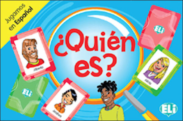 ¿ Quién es ? A card game for 1st and 2nd year students to learn and review vocabulary and structures relating to physical descriptions.