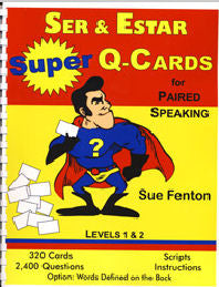 Ser & Estar Super Q-Cards