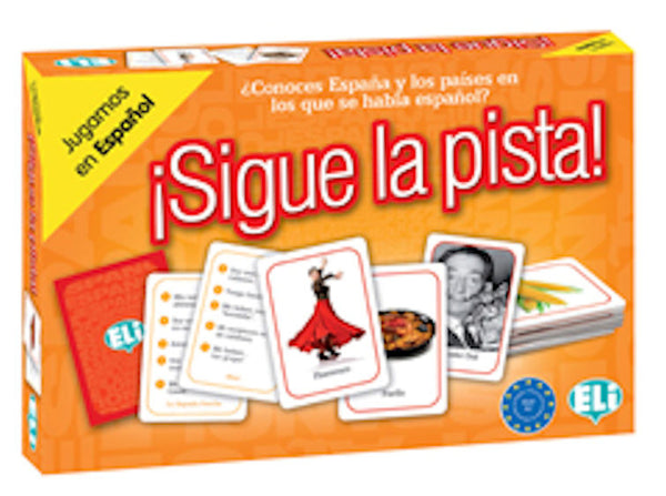 Sigue la Pista - Great board game in the A2 level to learn the countries where Spanish is spoken.