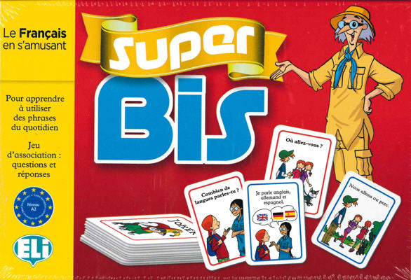 Super Bis French - An exciting question/answer card game for both beginners and intermediate level students.
