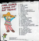 Sing, Dance, Laugh and Eat Tacos 1 CD