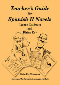 Teacher's Guide for Spanish II Novels