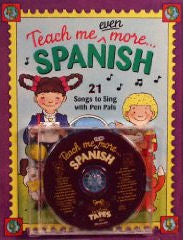 Teach Me Even More Spanish CD