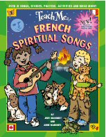 Teach Me French Spiritual Songs CD and Booklet