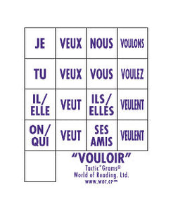 French Tactic*Grams® Vouloir