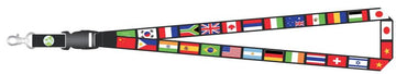 World Flags Lanyard