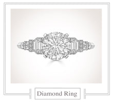 Load image into Gallery viewer, Raymond C. Yard, Diamond Ring