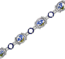 Load image into Gallery viewer, Raymond C. Yard, Crystal, Diamond, Platinum, White Gold Bracelet