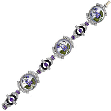 Load image into Gallery viewer, Raymond C. Yard, Crystal, Amethyst, Diamond Bracelet